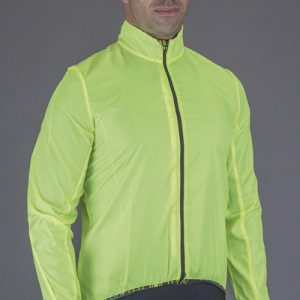"MANTELLA WINDPROOF ""ROUBAIX"" GIALLO FLUO"