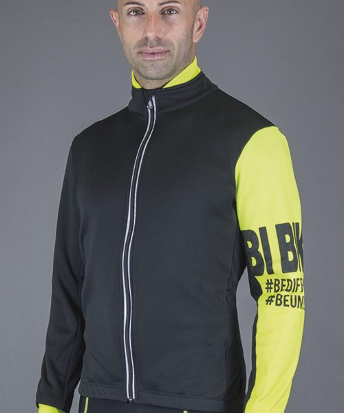 "GIACCA COMFORT-FIT ""VARESE"" giallo fluo"